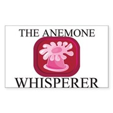 The Anemone Whisperer Rectangle Decal