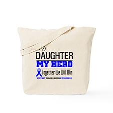 ColonCancerHero Daughter Tote Bag