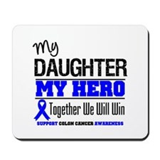 ColonCancerHero Daughter Mousepad