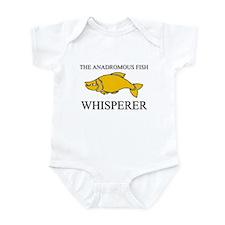 The Anadromous Fish Whisperer Infant Bodysuit