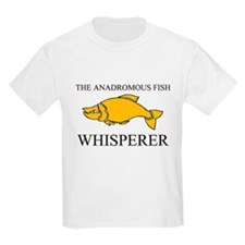 The Anadromous Fish Whisperer Kids Light T-Shirt
