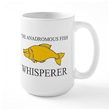 The Anadromous Fish Whisperer Large Mug