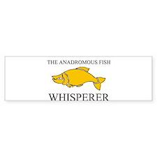 The Anadromous Fish Whisperer Bumper Sticker
