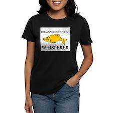The Anadromous Fish Whisperer Women's Dark T-Shirt