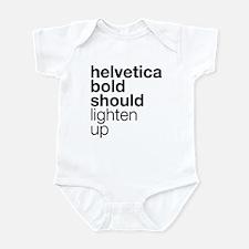 Lighten Up (Black) Infant Bodysuit
