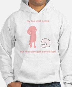 Your adorable maneating dog Hoodie