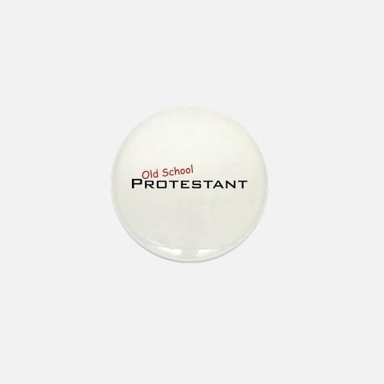 Protestant / School Mini Button