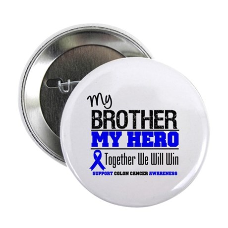 "ColonCancerHero Brother 2.25"" Button (10 pack)"