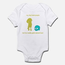 Your adorable maneating dog Infant Bodysuit