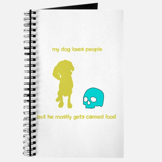 Your adorable maneating dog Journal
