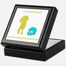 Your adorable maneating dog Keepsake Box