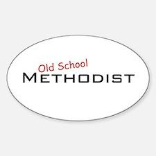 Methodist / School Oval Decal