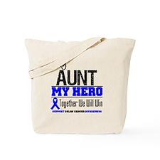 ColonCancerHero Aunt Tote Bag