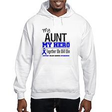 ColonCancerHero Aunt Hoodie