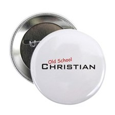"Christian / School 2.25"" Button"