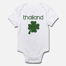 Thailand shamrock Infant Bodysuit