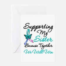Thyroid Cancer Sister Greeting Card