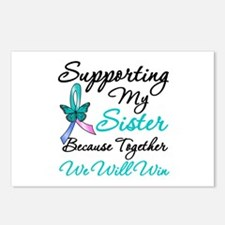 Thyroid Cancer Sister Postcards (Package of 8)