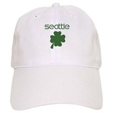 Seattle shamrock Baseball Cap
