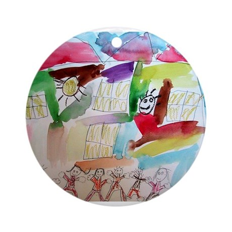 Isaiah Martinez Ornament (Round)