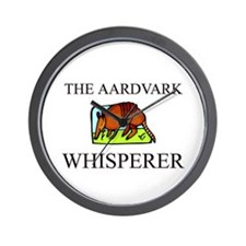The Aardvark Whisperer Wall Clock