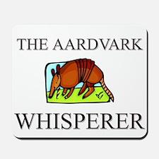 The Aardvark Whisperer Mousepad