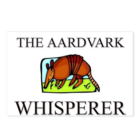 The Aardvark Whisperer Postcards (Package of 8)