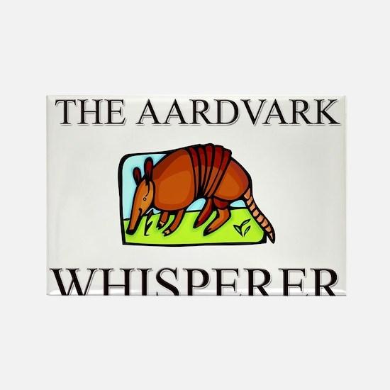 The Aardvark Whisperer Rectangle Magnet