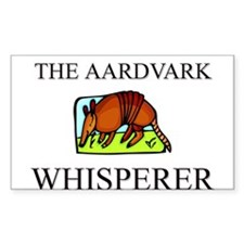 The Aardvark Whisperer Rectangle Decal