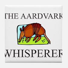 The Aardvark Whisperer Tile Coaster