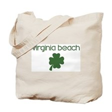 Virginia Beach shamrock Tote Bag