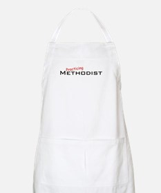 Practicing Methodist BBQ Apron