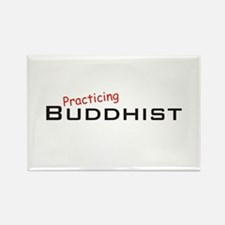 Practicing Buddhist Rectangle Magnet (10 pack)