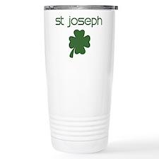 St Joseph shamrock Travel Mug