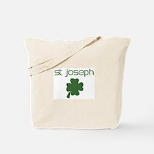 St Joseph shamrock Tote Bag