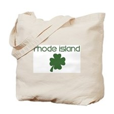 Rhode Island shamrock Tote Bag