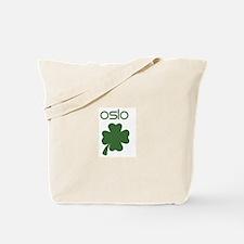 Oslo shamrock Tote Bag