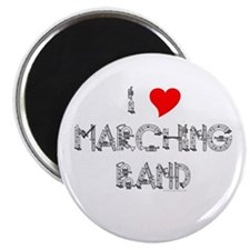 """I Love Marching Band 2.25"""" Magnet (10 pack)"""