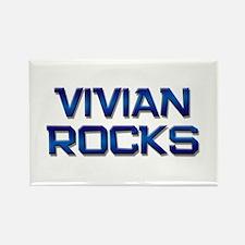 vivian rocks Rectangle Magnet