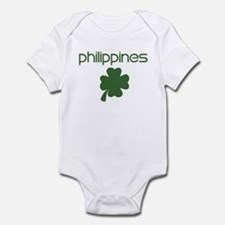 Philippines shamrock Infant Bodysuit