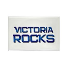 victoria rocks Rectangle Magnet