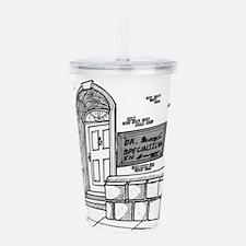 Handwriting Cartoon 20 Acrylic Double-wall Tumbler