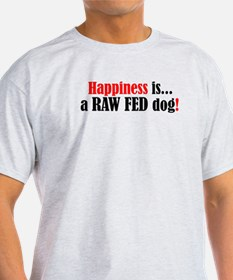 Happiness is... - Ash Grey T-Shirt