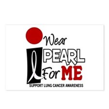 I Wear Pearl For ME 9 Postcards (Package of 8)