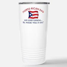 Good Looking Puerto Rican Dad Travel Mug