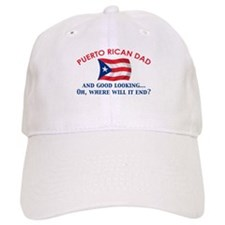 Good Looking Puerto Rican Dad Baseball Cap