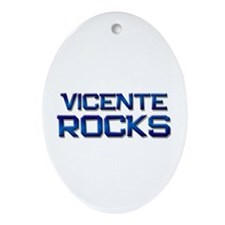 vicente rocks Oval Ornament