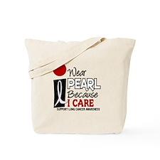 I Wear Pearl Because I Care 9 Tote Bag