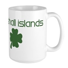 Marshall Islands shamrock Mug