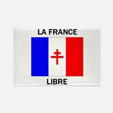 Free France Rectangle Magnet